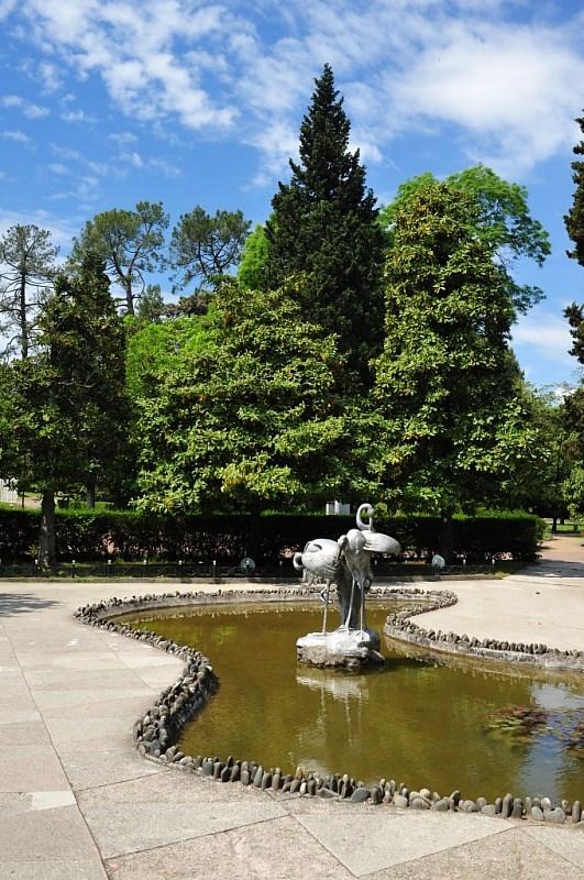 """Достопримечательности Сочи: описание водоёма в парке """"Ривьера""""."""