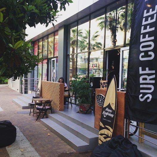Кофейня «Surf Coffee»
