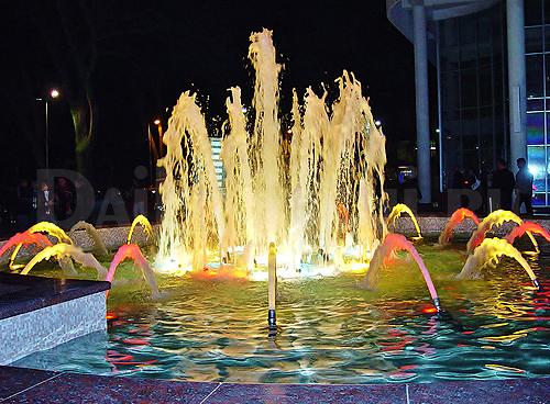 Поющие фонтаны, одна из главных достопримечательностей города Сочи