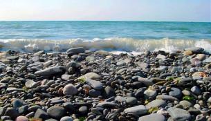 Галечные пляжи Сочи
