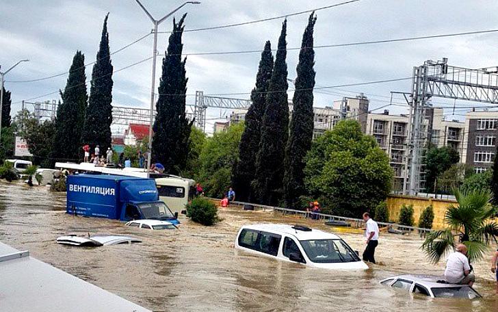 Наводнение в Сочи 2015