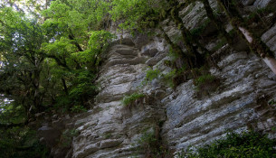 Белые скалы - отличное место для привала!