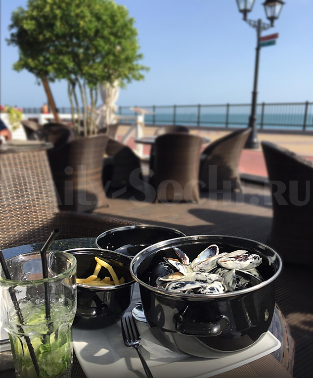 Вкуснейшие мидии в ресторане «Mare d'amore»