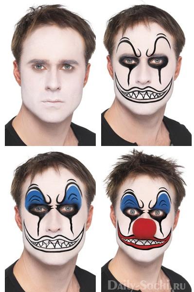 Легкий макияж на хэллоуин для мальчиков