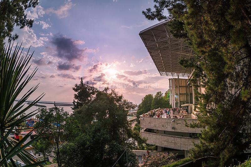 Концертный зал фестивальный в Сочи