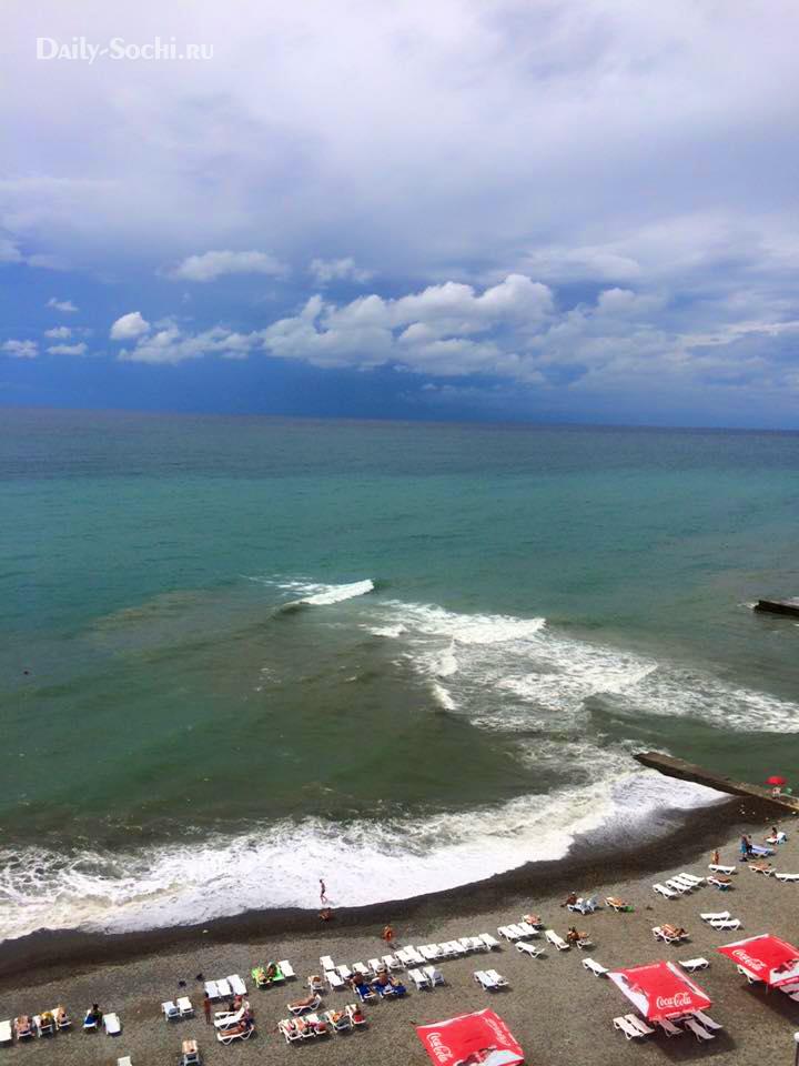Пляжи Дагомыса ФОТО