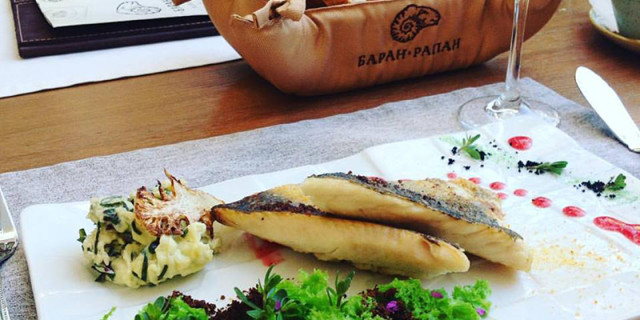 Ресторан Баран Рапан в Сочи