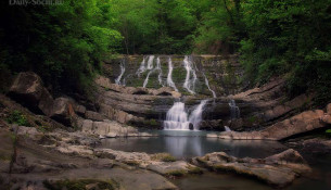 Змейковские водопады Сочи