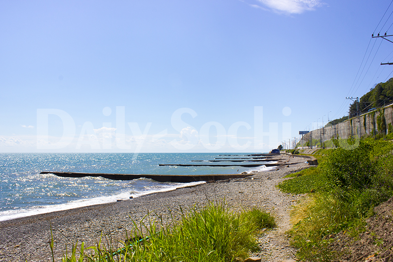 Нудистский пляж Сочи на малом Ахуне
