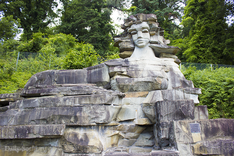 Скульптурная композиция Мацеста в городе Сочи
