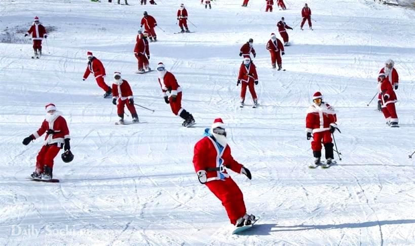 Новый год в Сочи на Красной поляне