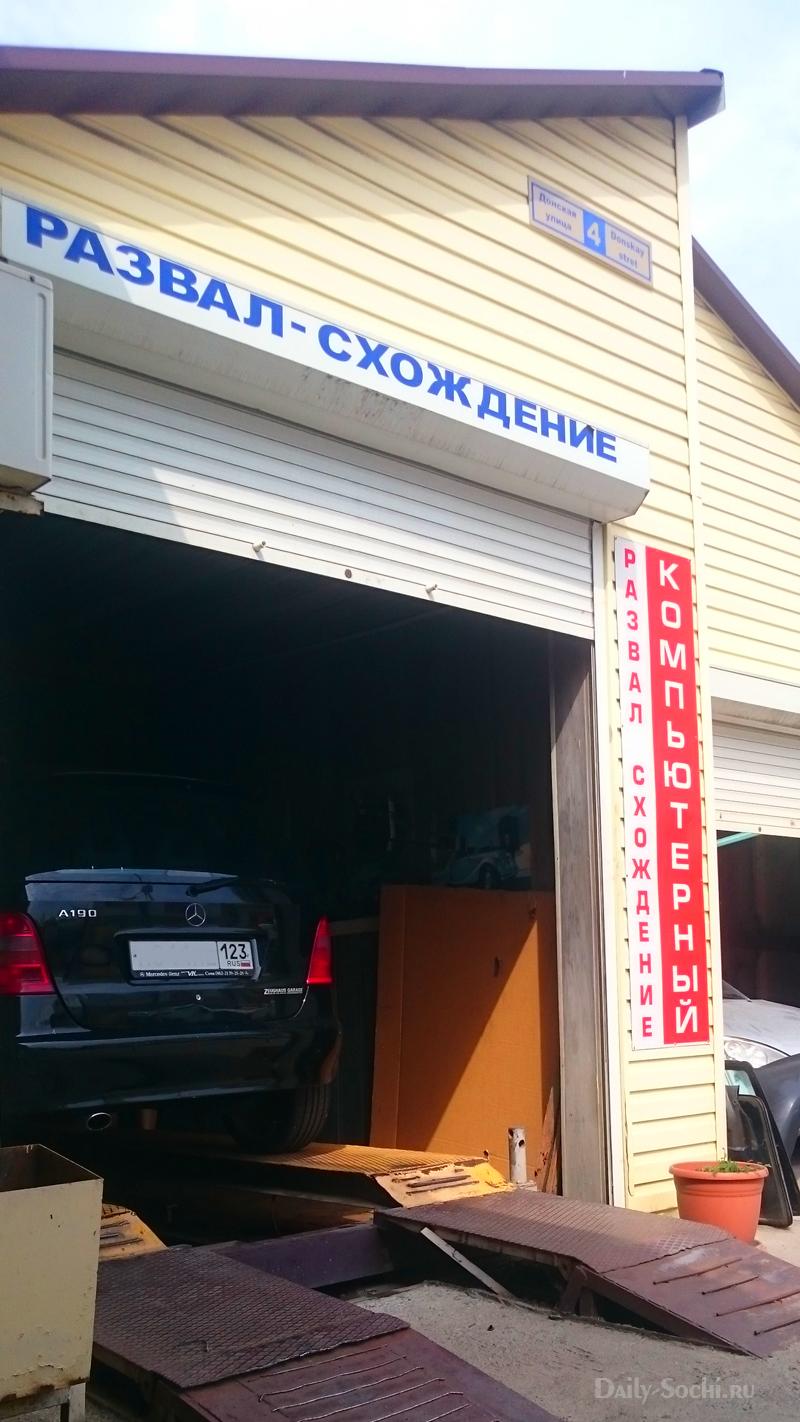 Автосервис в Сочи
