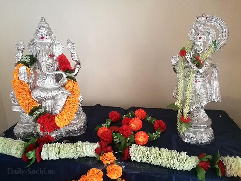 Индийская выставка в Сочи