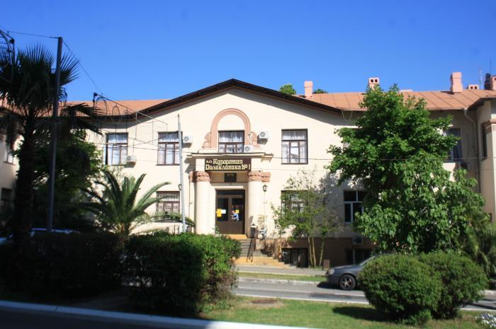 Курортная поликлиника Сочи